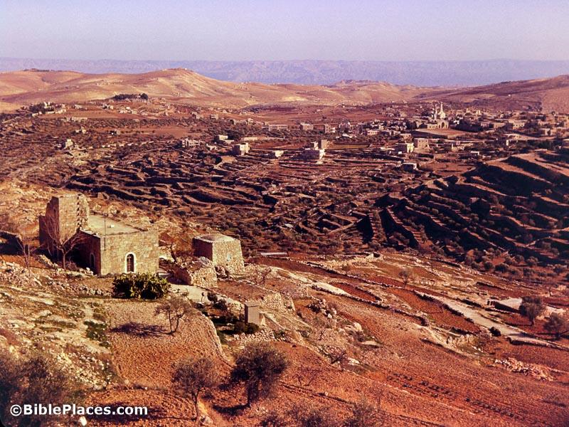 Bethlehem Shepherds Fields and Mts of Moab, db6601060303